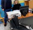 Επίσκεψη του Προέδρου και του Διοικητικού Συμβουλίου της ΚΟ.Δ.Ε.Π στο 1ο Ειδικό Δημοτικό Σχολείο Πειραιά